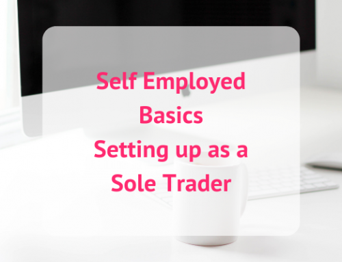 Setting up as a Sole Trader
